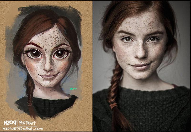 Как сделать красивый портрет
