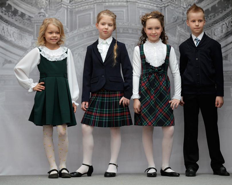 Школьная мода сентябрь